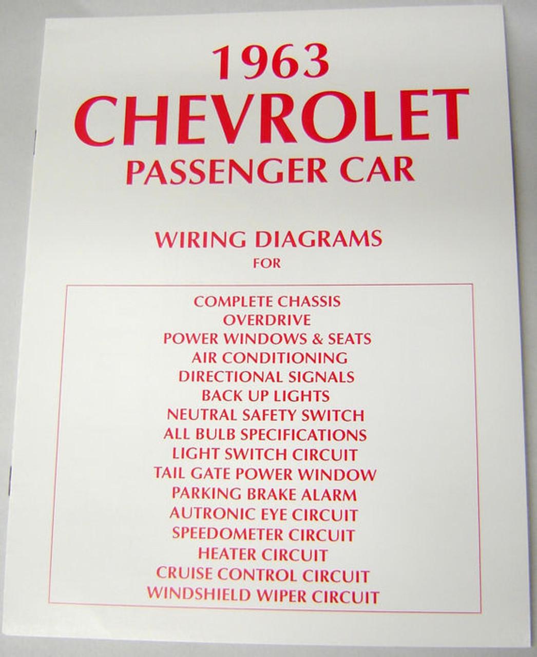 [QNCB_7524]  63 Chevy Impala Electrical Wiring Diagram Manual 1963 - I-5 Classic Chevy | Impala Heater Wiring Diagram |  | I-5 Classic Chevy