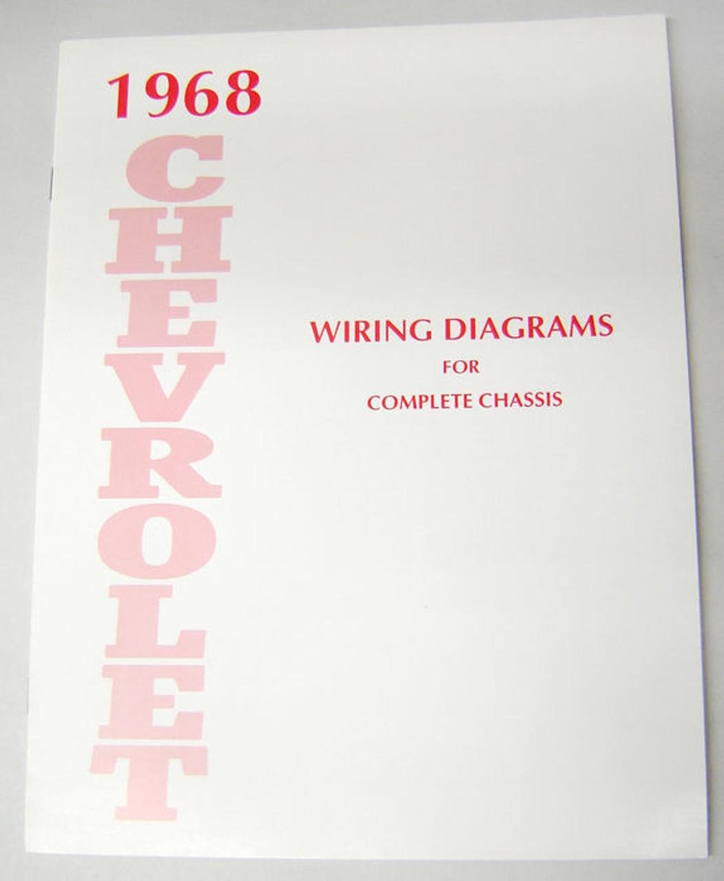 68 1968 chevy impala electrical wiring diagram manual