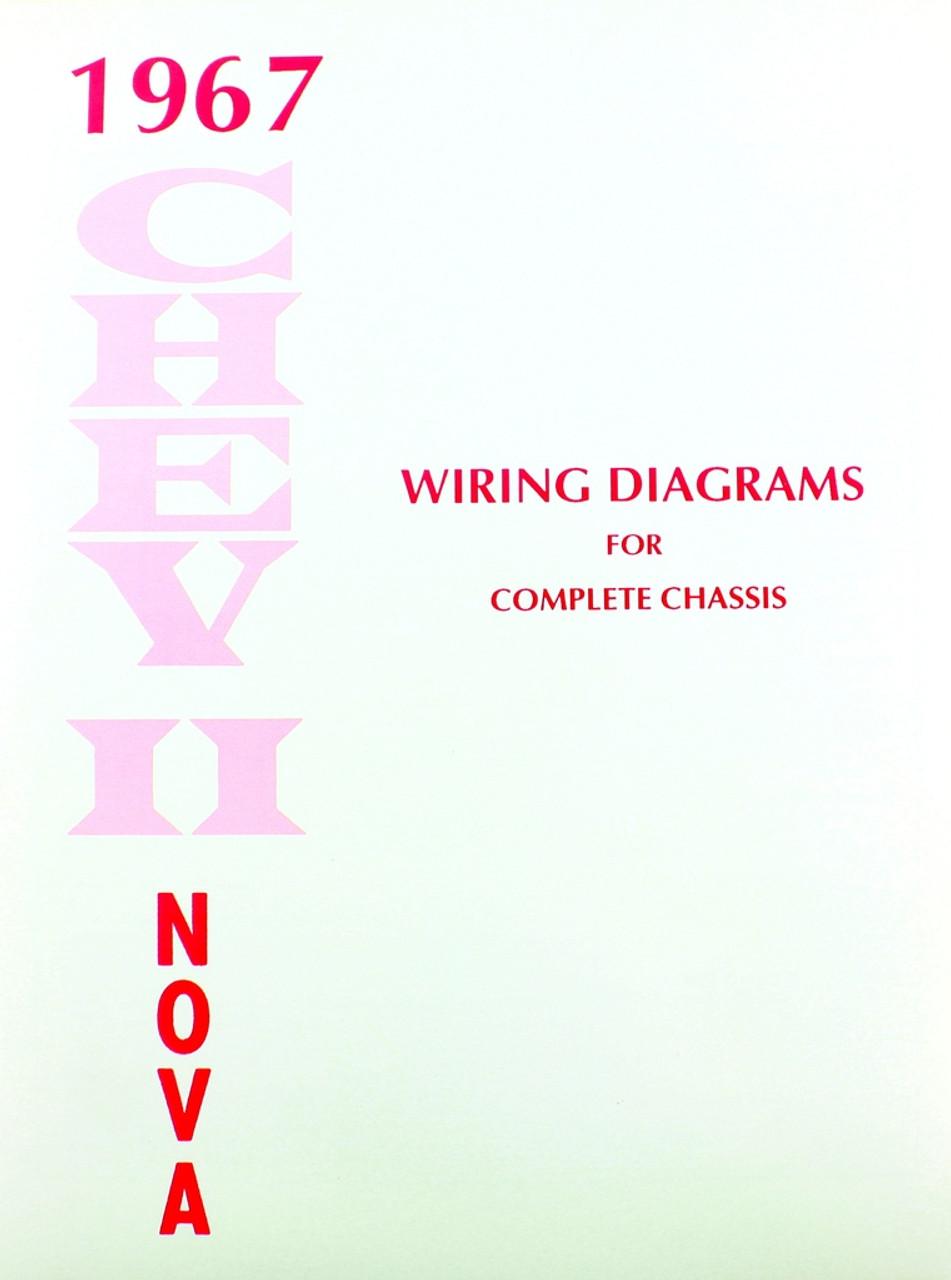 67 1967 chevy nova electrical wiring diagram manualrepair guides