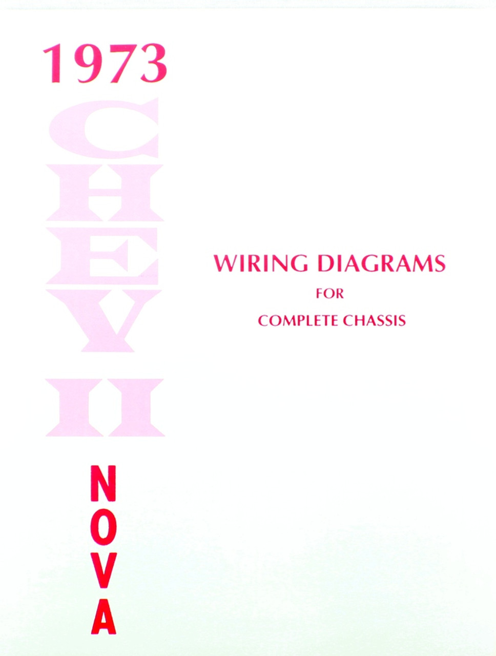 73 Chevy Nova Electrical Wiring Diagram Manual 1973 I 5 Classic