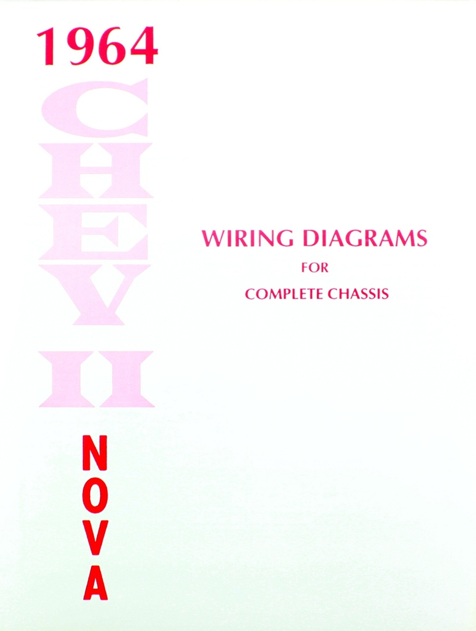64 1964 Chevy Nova Electrical Wiring Diagram Manual I 5 Classic Harness