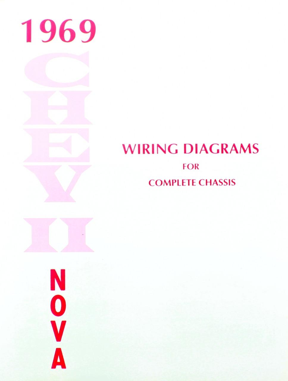 69 1969 Chevy Nova Electrical Wiring Diagram Manual I 5 Classic 68