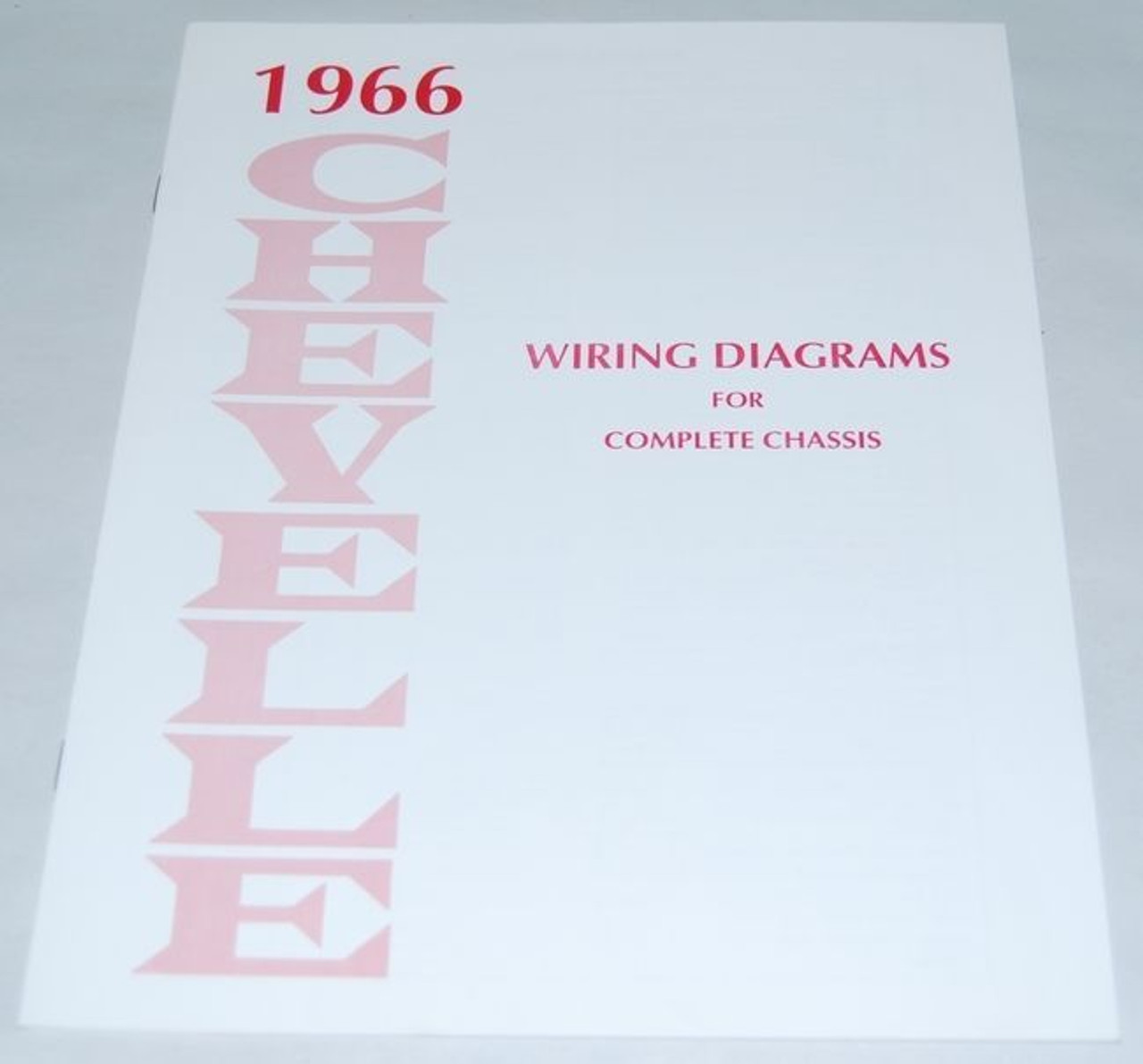 66 1966 chevelle el camino electrical wiring diagram manual