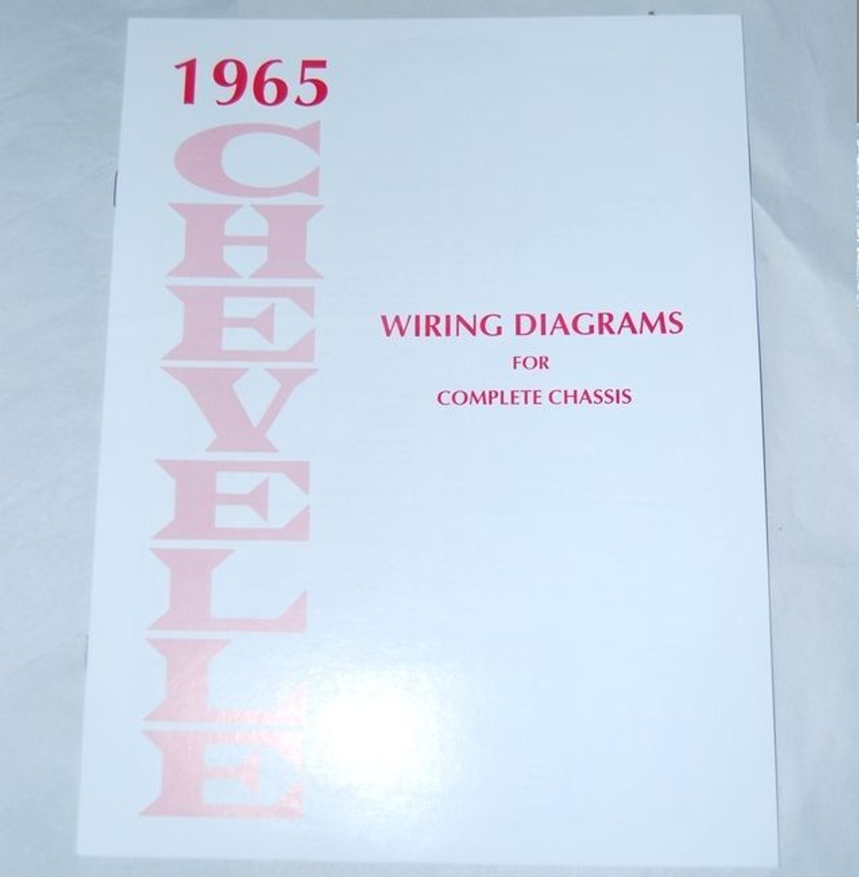 65 chevelle el camino electrical wiring diagram manual 1965