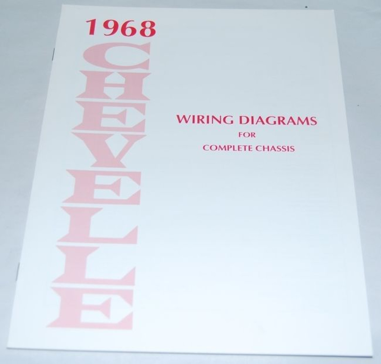 68 Chevelle El Camino Electrical Wiring Diagram Manual 1968 I 5 Classic Chevy