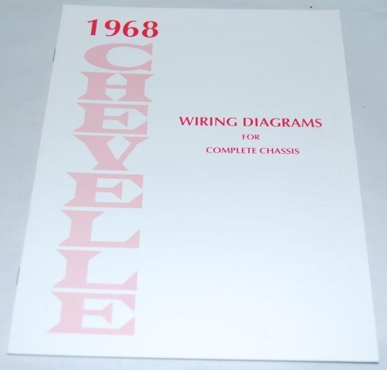 68 Chevelle El Camino Electrical Wiring Diagram Manual