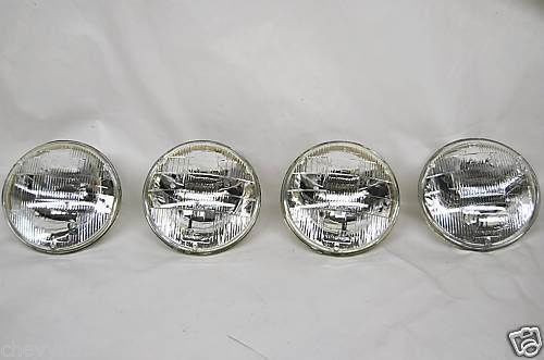64 65 66 67 68 69 70 CHEVELLE MALIBU EL CAMINO HALOGEN HEADLIGHTS SET