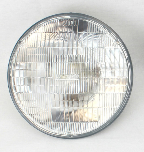 "6 VOLT 7"" HALOGEN GLASS SEALED BEAM HEADLIGHT BULB H6006"