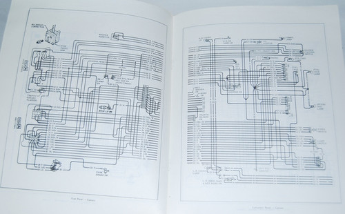 Service & Repair Manuals 71 1971 Chevy Impala Electrical Wiring ...