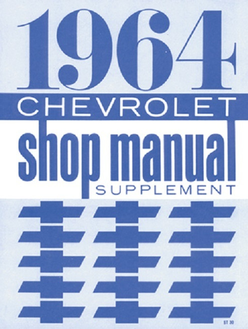 64 1964 Chevy Impala Electrical Wiring Diagram Manual - I ...