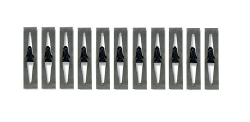 55 56 & 58 59 60 Chevy & Impala Hood To Cowl Seal Clips Set