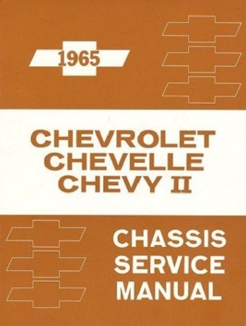 65 1965 Chevy Impala Chevelle Nova Chassis Service Shop Manual