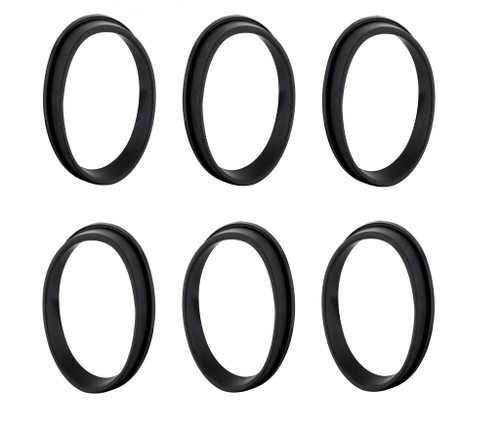 64 1964 Chevrolet Impala Rear Tail Light Housing To Body Rubber Seals Set of 6