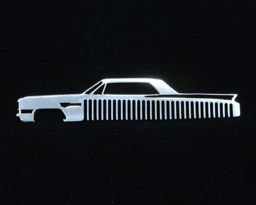 63 64 Cadillac Coupe Deville Polished Stainless Trim Beard Hair Mustache Comb