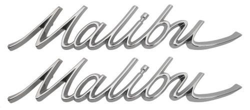 66 67 1966 1967 Chevelle Malibu Quarter Panel Emblems