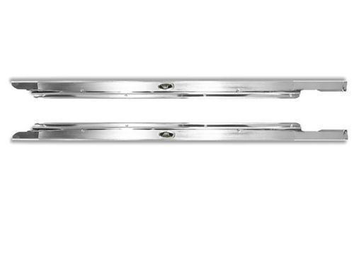 62 63 64 65 66 67 CHEVY II NOVA CARPET SILL PLATES GM LICENSED