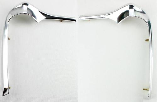 68 69 70 71 72 Chevy Nova Fender Molding Eyebrows Trim New