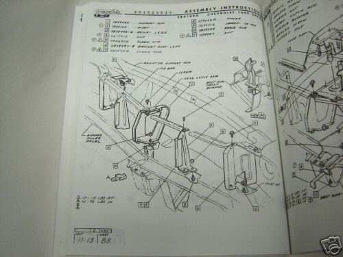 70 Chevelle El Camino Factory Assembly Manual Book 1970 I 5 Classic Chevy