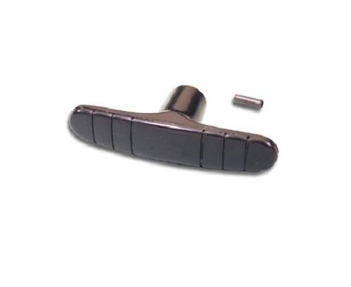 55 56 57 Chevy Gloss Black Metal Emergency Parking E-Brake Release Handle