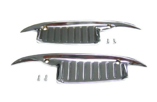 60 61 63 64 Chevy Impala Door Handle Nail Guards Knuckle Shields