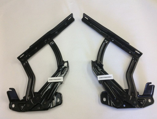 1966 66 1967 67 Chevy II Nova New Hood Hinges Pair