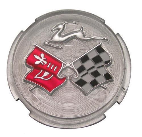 58 59 60 1958 1959 1960 Chevy Impala Steering Wheel Horn Ring Plastic Emblem