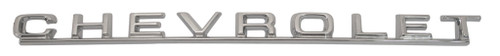 67 1967 Chevy El Camino Tailgate Chevrolet Chrome Script Emblem Tail Gate