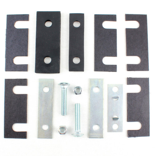 55 56 57 Chevy Radiator Lower Core Support To Frame Mounting Kit & Shims