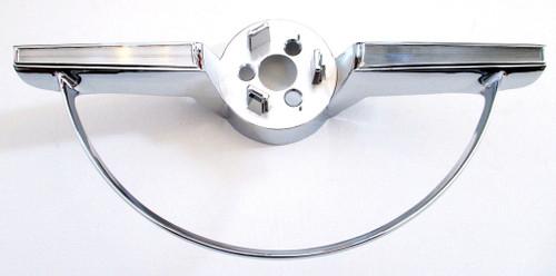 65 66 1965 1966 Chevy Impala Steering Wheel Center Trim