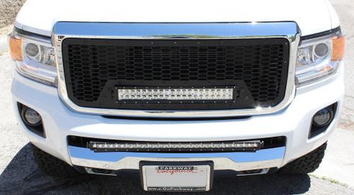 Astounding 15 16 17 18 19 Gmc Canyon Custom Black Mesh Aluminum Grille 21 Wiring Cloud Hisonuggs Outletorg