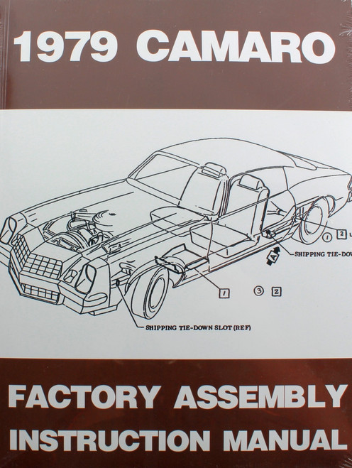 79 Chevy Camaro Factory Assembly Manual Guide Book 1979