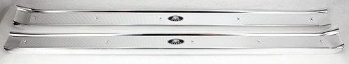 65 66 67 68 69 70 Chevy Bel Air Biscayne Caprice Impala 2-DOOR Sill Plates