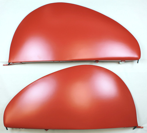 30's 40's Chevrolet Ford Dodge Packard Buick De Soto Olds Buick Teardrop Metal Fender Skirts