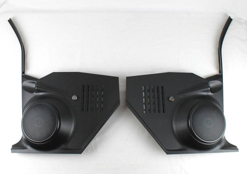 68 69 70 71 72 Chevy Nova Speaker Kick Panel Housings with Vents without A/C