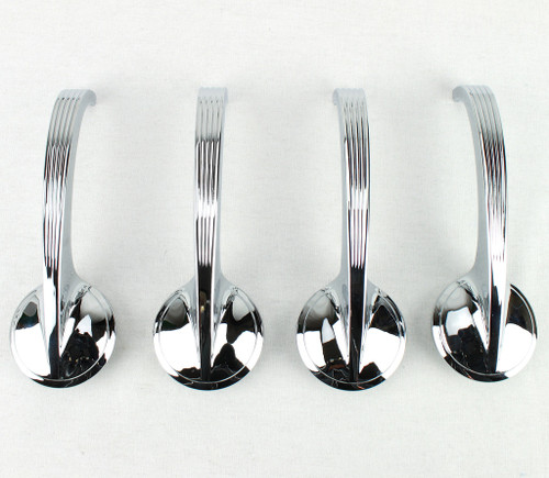 49 50 51 52 53 54 55 56 57 58 Chevy 150 210 Bel Air Chrome Door Handles Set of 4