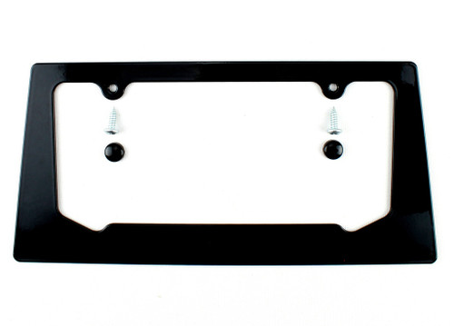 2016-2018 Chevy Camaro RS SS 1LE ZL1 Gloss Black Aluminum License Plate Frame