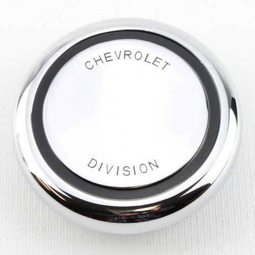 67 68 Chevy C10 C20 C30 Pickup Truck Chrome Chevrolet Division Horn Button Cap