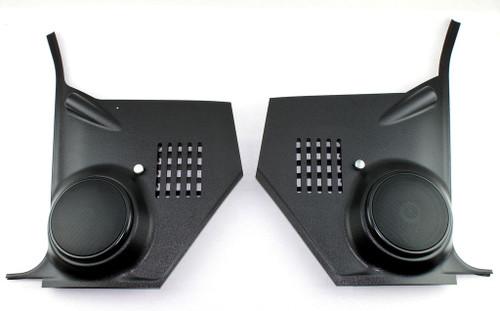 1966 66 1967 67 Chevy II Nova Kick Panel Speaker Housings 100 watt Speakers