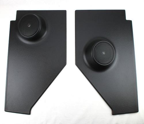 47 48 49 50 51 52 53 Chevy TRUCK Kick Panel Speaker Housings & 100 Watt Speakers