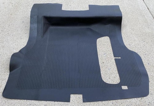 55 56 57 Chevy CONVERTIBLE Molded Rubber Trunk Floor Mat New 1955 1956 1957