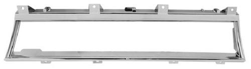 66 67 Chevelle El Camino Chrome Dash Cluster Speedometer Trim Bezel
