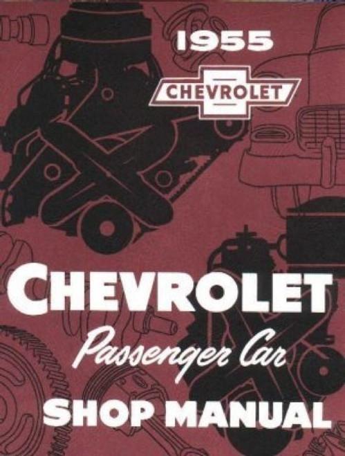 55 Chevy Passenger Car Shop Repair Manual Guide Book 1955