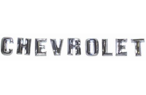 60 61 Chevy Impala Front Hood Chevrolet Emblem Letters 1960 1961