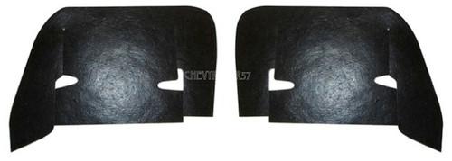 61 1961 Chevy Impala Inner Fender Control Arm Rubber Dust Shields