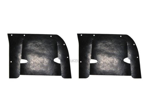 58 1958 Chevy Impala Inner Fender Control Arm Rubber Dust Shields