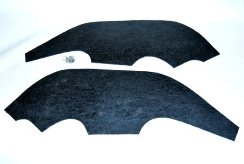 68 1968 Chevy Nova Inner Fender Dust Shields