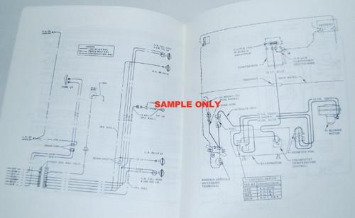 68 1968 Chevy Nova Electrical Wiring Diagram Manual  Nova Wiring Diagram on