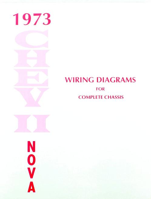 73 Chevy Nova Electrical Wiring Diagram Manual 1973