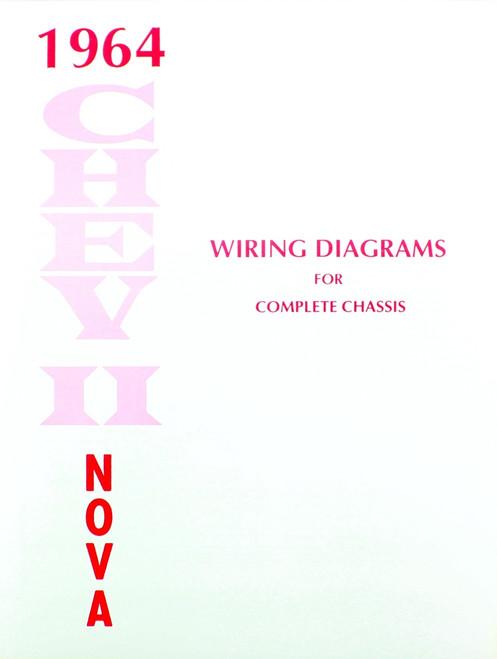 64 1964 Chevy Nova Electrical Wiring Diagram Manual