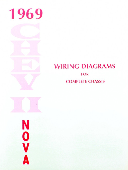 69 1969 Chevy Nova Electrical Wiring Diagram Manual - I-5 Classic ChevyI-5 Classic Chevy